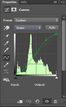 Выцветший кросс-процесс Фотошоп 6