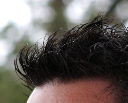 Как вырезать волосы в фотошопе 12