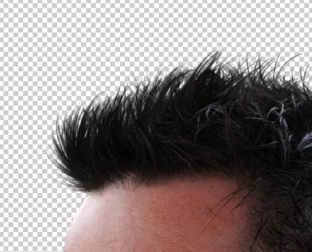 Как вырезать волосы в фотошопе 16