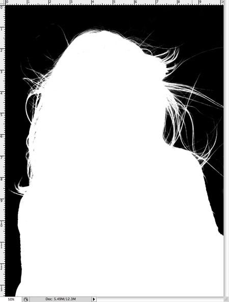 Как вырезать волосы в фотошопе 7