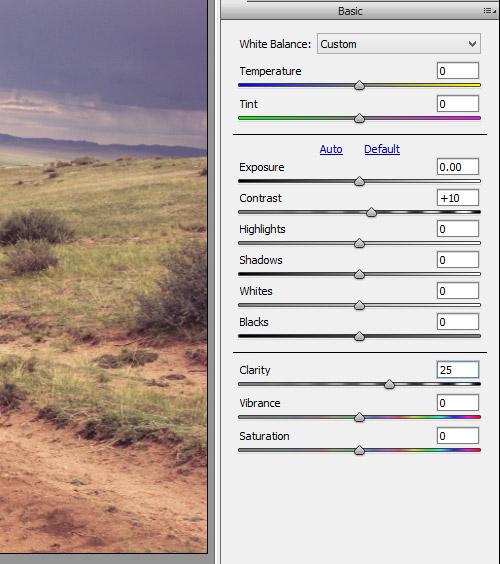 Как использовать Camera Raw фильтры в фотошопе 3