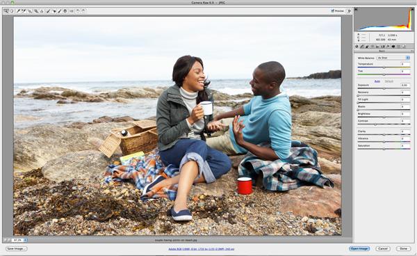 Применение цветового эффекта к фотографии 1