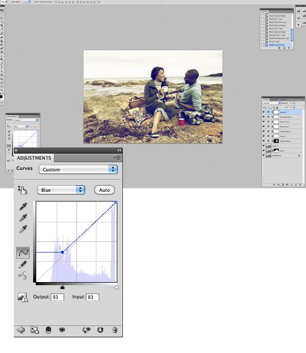 Применение цветового эффекта к фотографии 12