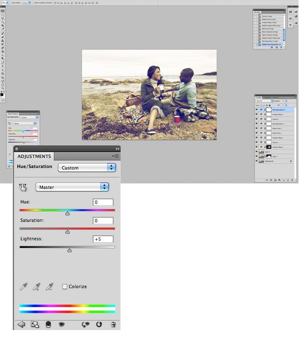 Применение цветового эффекта к фотографии 14