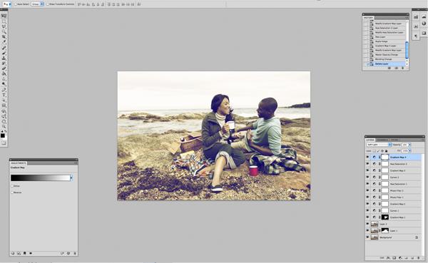 Применение цветового эффекта к фотографии 15