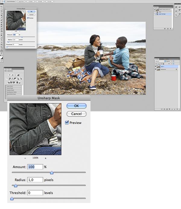 Применение цветового эффекта к фотографии 2