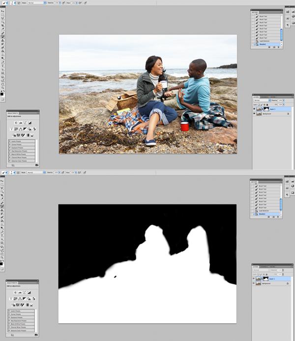 Применение цветового эффекта к фотографии 3