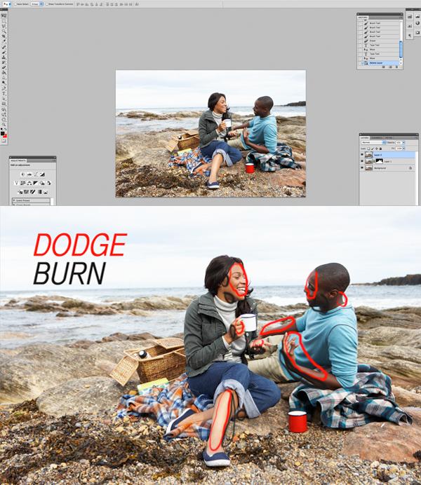 Применение цветового эффекта к фотографии 5