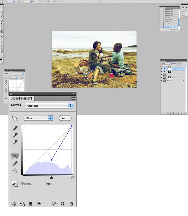 Применение цветового эффекта к фотографии 7