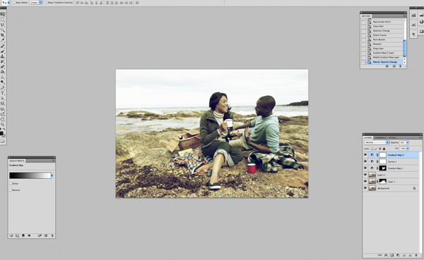 Применение цветового эффекта к фотографии 8