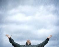 дождь в фотошопе 4