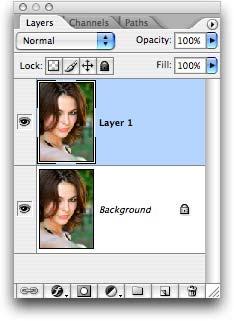 улучшить глаза фотошоп 1