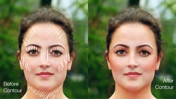 реалистичный макияж фотошоп 12