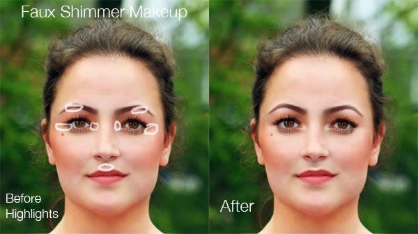реалистичный макияж фотошоп 15