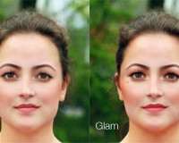 реалистичный макияж фотошоп 17