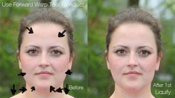 реалистичный макияж фотошоп 2