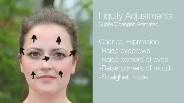 реалистичный макияж фотошоп 3