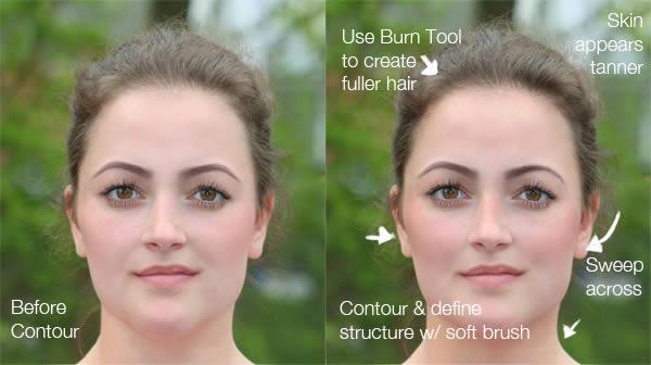 реалистичный макияж фотошоп 8